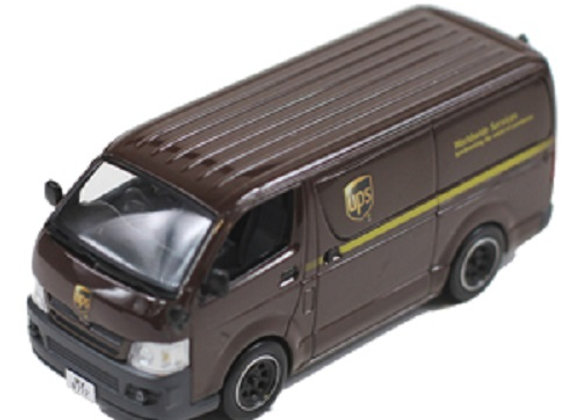 TOYOTA HIACE Van 2007 UPS HK delivery - J Collection 125