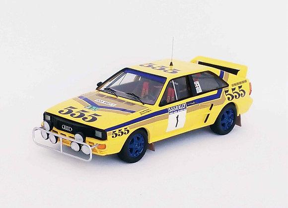 Audi quattro - 1st Hong Kong - Beijing 1986: Stig Blomqvist / Bruno Berglund