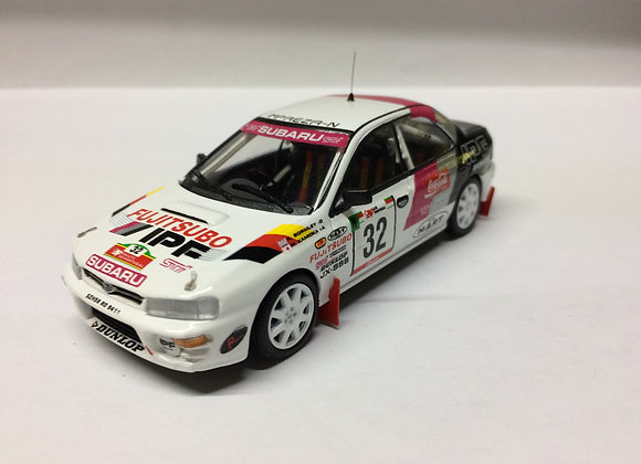 Subaru Impreza - 12th Rally of Portugal 95: Masao Kamioka
