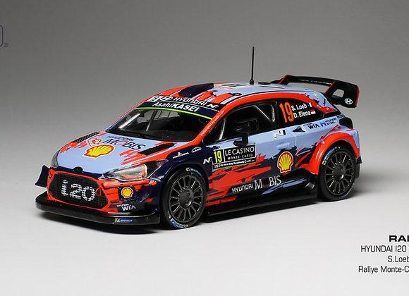 Hyundai i20 WRC #19 S.Loeb/D.Elena Rally Monte Carlo 2019