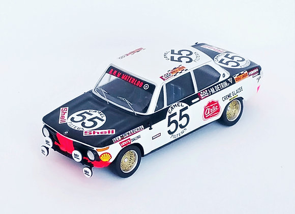 BMW 2002 - 24H Spa-Francorchamps 1972: Robert Derom / Jean-Marie Detri