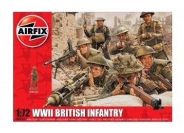 AIRFIX WWII BRITISH INFANTRY 1/72