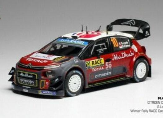 CITROËN C3 WRC #10 S. LOEB-D. ELENA WINNER RALLY RACC CATALUNYA 2018