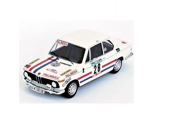 BMW 2002 Etchbers/Etchbers Rally Portugal 1975