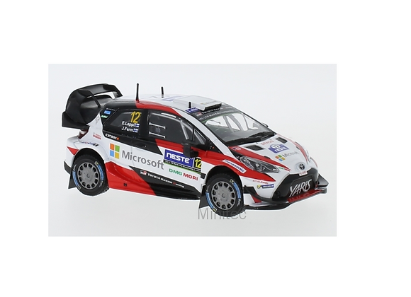Toyota Yaris WRC, No.12, R. Finland, E.Lappi/J.Ferm, 2017