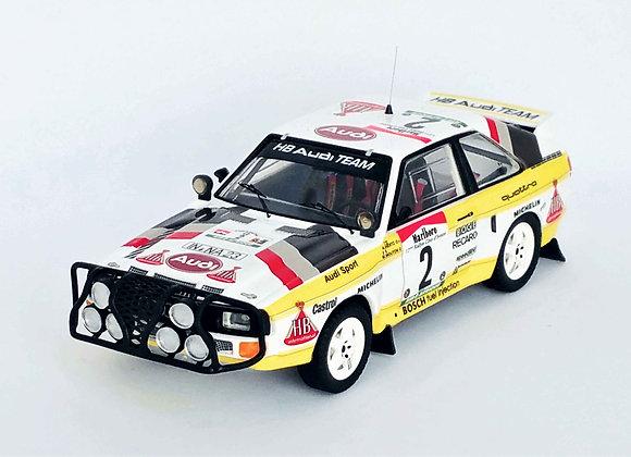 Audi Sport Quattro - Bandama Rally 1985: Michèle Mouton / Arne Hertz