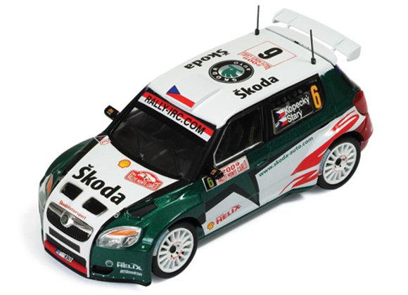SKODA FABIA S2000 #6 Kopecky - Stary 4th Rally MC 09