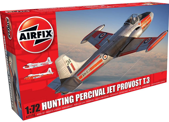 AIRFIX HUNTING PERCIVAL JET PROVOSTY T3 1/72
