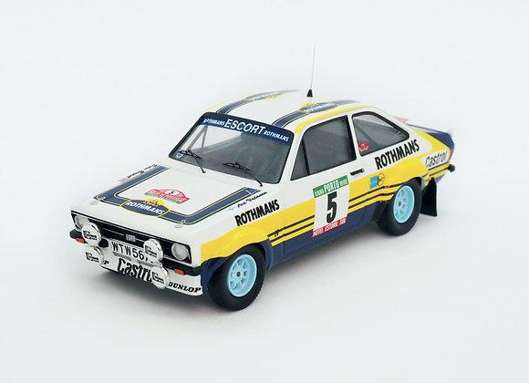 RRal102Ford Escort Mk2 - Rally of Portugal 1979: Ari Vatanen / Peter Bryant