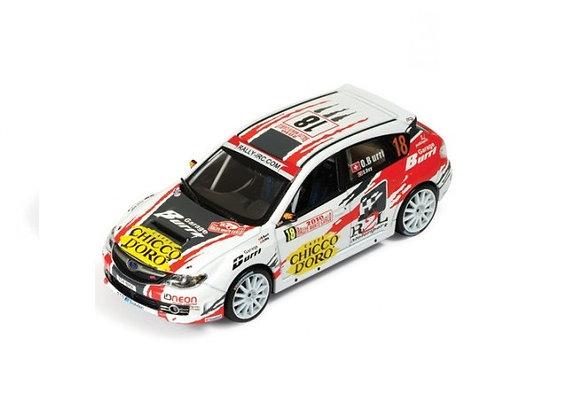 SUBARU IMPREZA WRX STI #18 Burri/Rey 13rd Rally MC 10