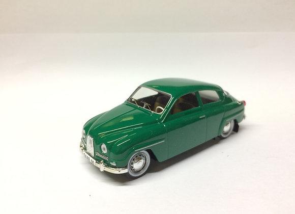 SAAB 96 ROADCAR STD 1960    GREEN