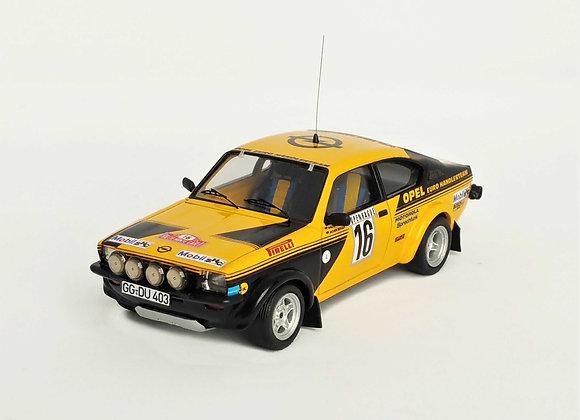 Opel Kadett GT/E #16 - 4 th Monte-Carlo Rally 1976: Walter Röhrl / Joch