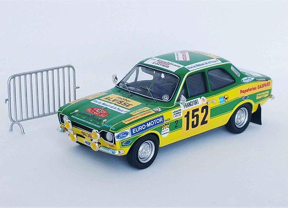 Ford Escort Mk1 RS2000 - R. Monte Carlo 1977: Alain Beauchef / Jean-René Dubois