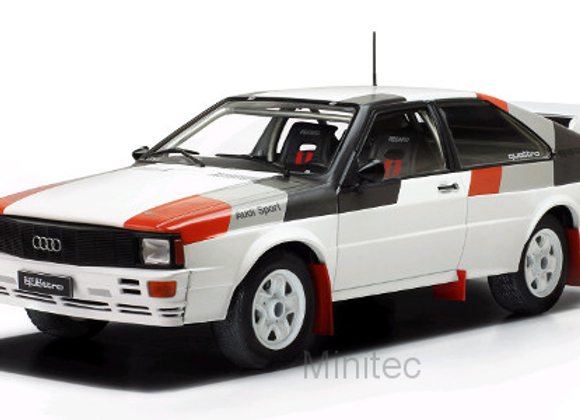 Audi quattro  white Rally Spec 1982