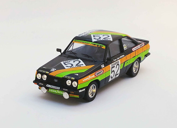 RRbe15Ford Escort Mk2 RS2000 - 1st class 24H Spa 1979: A. Beauchef / D. Selzer