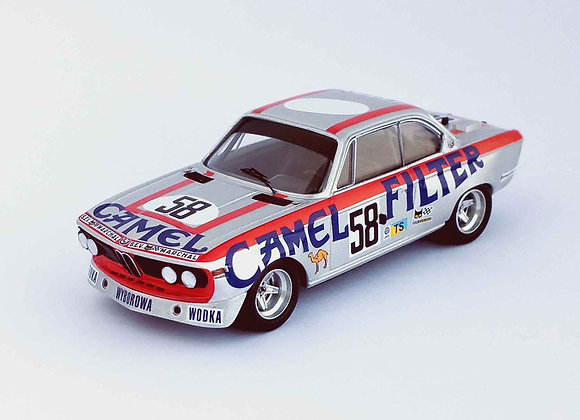 BMW 3.0 CSL - 24H Le Mans 1973:  Walter Brun / Cox Kocher / Jean-Pierr