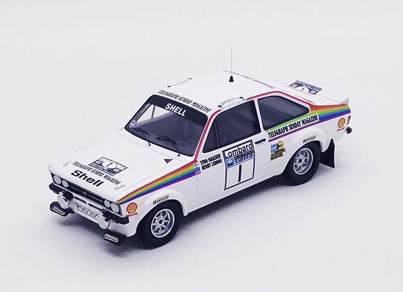 Ford Escort Mk2 -RAC Rally 1976:Timo Makinen/H.Liddon