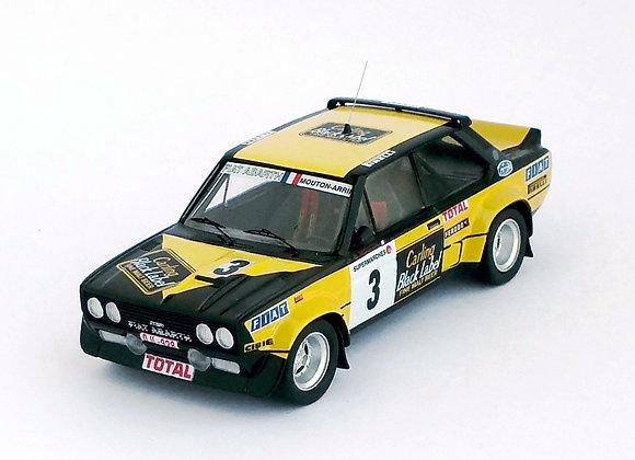 Fiat 131 Abarth - Boucles de Spa 1980: Michèle Mouton / Annie Arrii