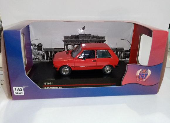 YUGO 45 1983 Red (Brown interiors)