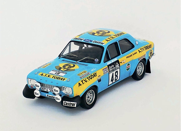 Ford Escort Mk1 - RAC Rally 1973: Russell Brookes/J.Brow