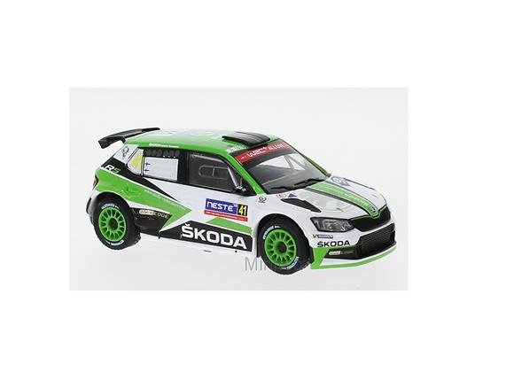 Skoda Fabia R5, No.41, R. Finland, K.Rovanperä/J.Halttunen, 2018