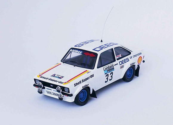 Ford Escort Mk2 Tim Brise / Phil Short Rac Rally 1980