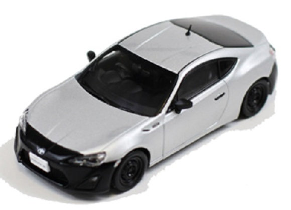 TOYOTA 86 RC version 2012 - Silver/ Black -J Collection 280