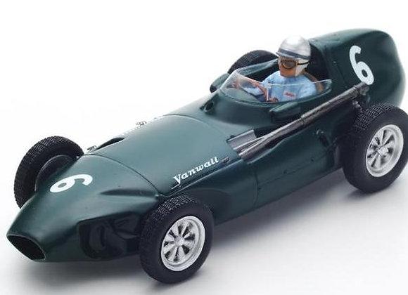 VANWALL #6 3EME GP BELGIQUE 1958 STUART LEWIS