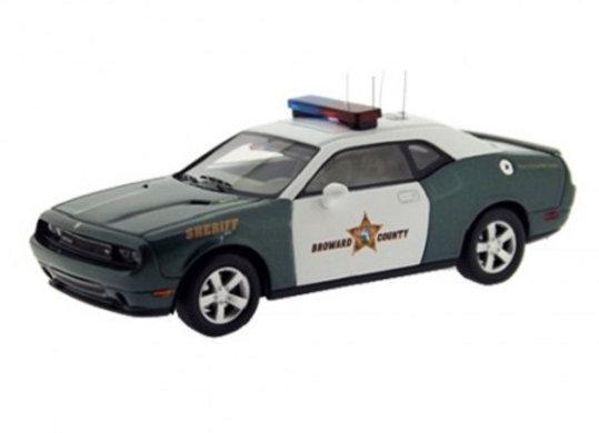 "DODGE CHALLENGER SRT8 Broward County Sheriff"" 2009"" - Premium X 0052"