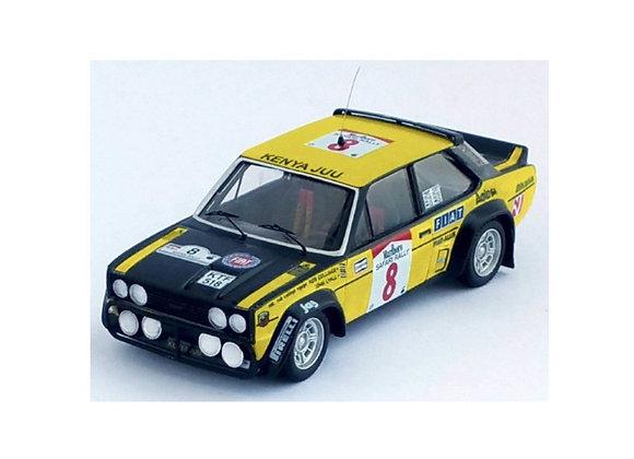 Fiat 131 abarth - Safari Rally 1981: Rob Colinge / John Lyall