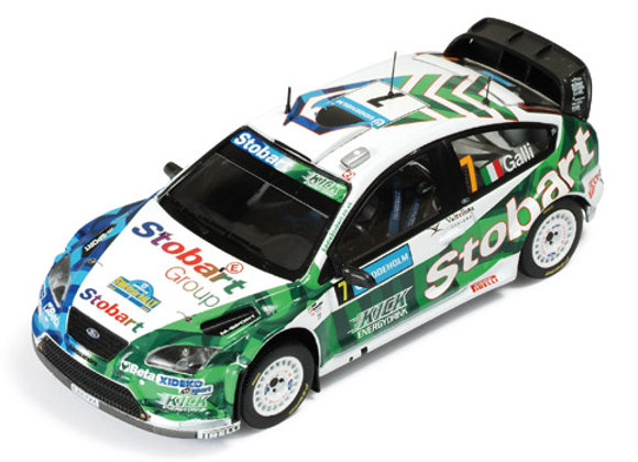 FORD FOCUS RS 07 WRC #7 G. Galli - Bernacchini 3rt Sweden R. 2008