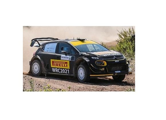 IXORAM766Citroen C3 WRC, No.21, R. Sardinien, 2020 P.Solberg/A.Mikkelsen