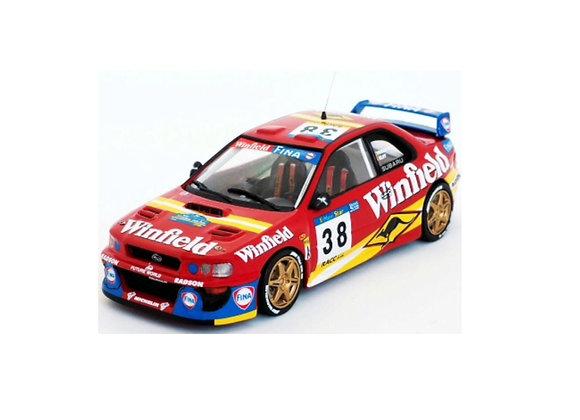 Subaru WRC -11th R.Catalunya 98:  Renaud Verreydt/JF Elst