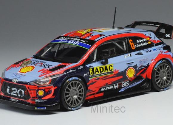 Hyundai i20 WRC, No.6, WRC, Rallye Germany, D.Sordo/C.Del Barrio, 2019