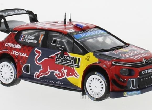 Citroen C3 WRC S.Ogier/J.Ingrassia Rally Monte Carlo 2019