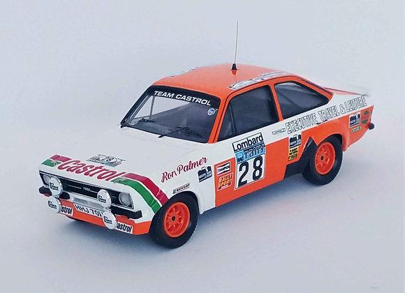 Ford Escort Mk2 Malcolm Wilson /R.Porter Rally Rac 1977