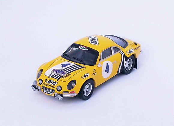 "Alpine-Renault A110 ""Siroco"" - Miltos Andriop 2nd Acropolis Rally 1976"