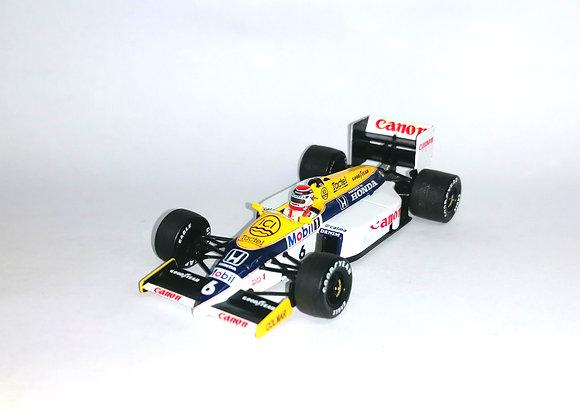 WILLIAMS HONDA FW11 N. MANSELL 1986 - Minichamps