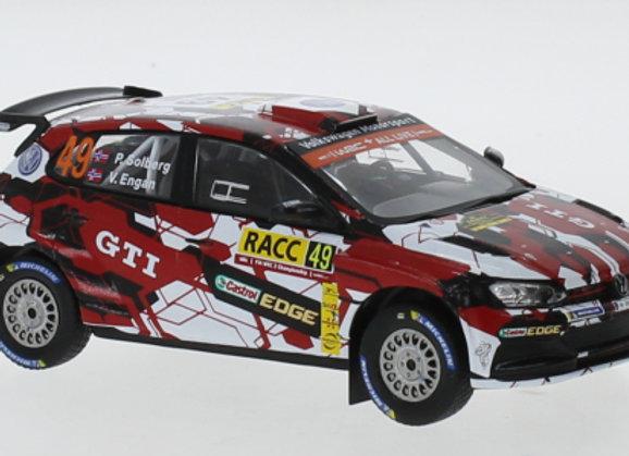 VW Polo GTI R5 N.49 WRC Rallye Catalunya P.Solberg/V.Engan 2018 - RAM742