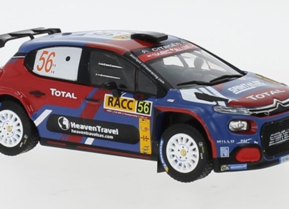 Citroen C 3 R5 N.56 Rally Catalunya E.Camilli/B.Eillas 2019
