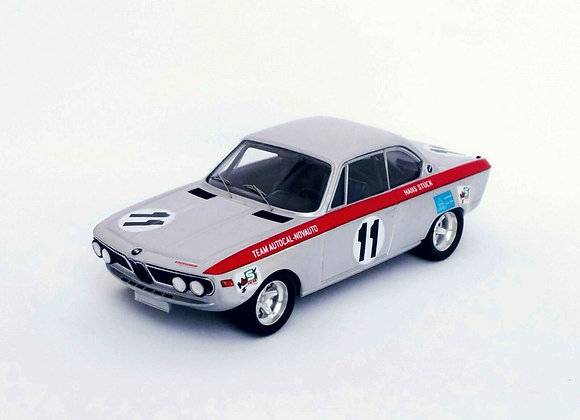 BMW 2800 CS - Nicha Cabral / Hans Stuck 1st 6H Nova Lisboa 1971