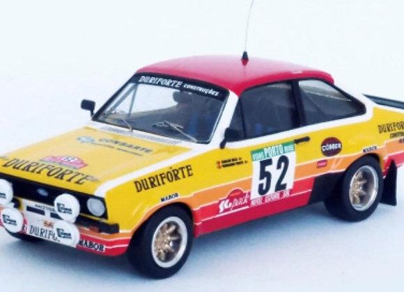 RRal104 Ford Escort Mk2 - Rally of Portugal 1982: Carlos Bica / Fernando Prata