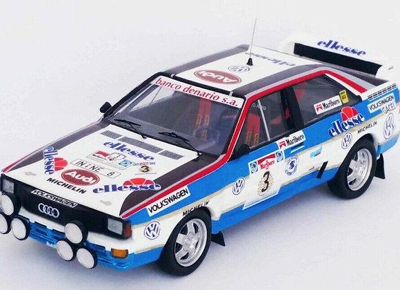 Audi quattro - Jorge Recalde/J.Del Buono 3rd R.Argentina 84