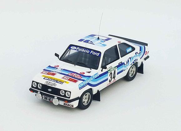 Ford Escort Mk2 RS2000 - Rally of Portugal 1980: Joaquim Moutinho / Migu