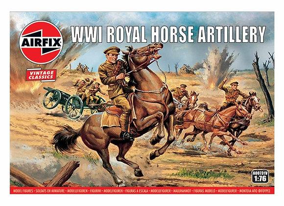 AIRFIX WW1 ROYAL HORSE ARTILLERY 1/72