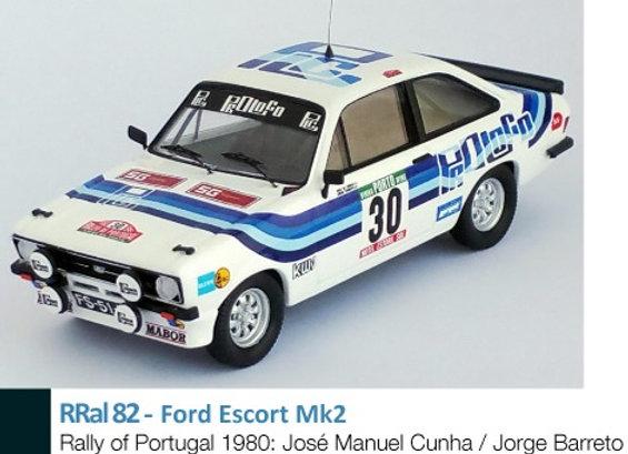 Ford Escort Mk2 - Rally of Portugal 1980: José Manuel Cunha / Jorge Barreto