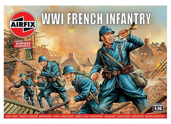 AIRFIX WWI FRENCH INFANTRY 1/72