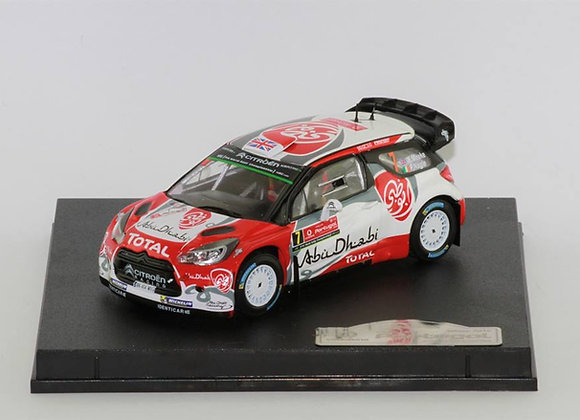 Citroen DS3 WRC Kris Meeke / Paul Nagle Winner Rally Portugal 2016