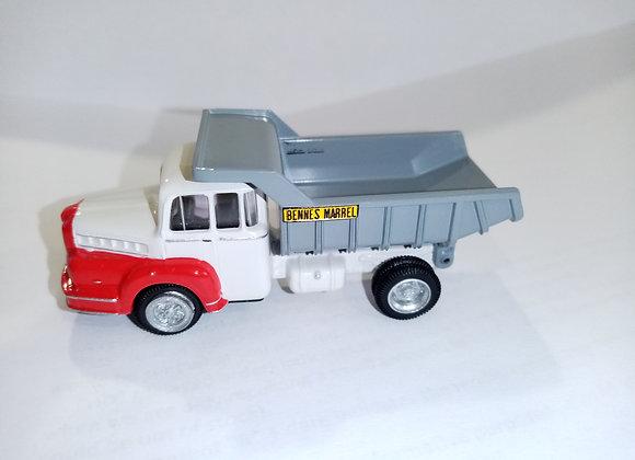 Camion UNIC Yzoar Benne Marre blanc/rouge HO