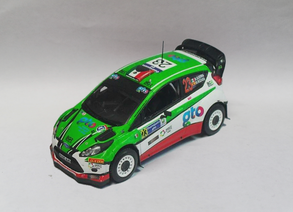 Ford Fiesta RS WRC Benito Guerra Rally Mexico 2015 - MINIpartes MNP 505BG